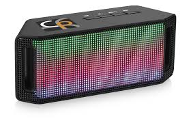 light up bluetooth speaker lumi light up bluetooth speaker black solid reklámajándék hu ltd
