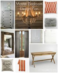 master bedroom design plan grays neutrals u0026 persimmon city
