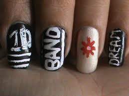 easy nail art designs for beginners to do at home one direction