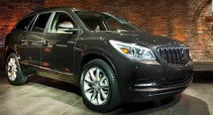 Buick Enclave 2013 Interior 2013 Buick Enclave Heads To New York Auto Show With A Fresh Face