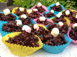 leftover easter egg chocolate cereal cakes lizzie u0027s cooking for kids
