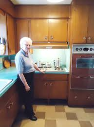 kitchen cabinets in calgary 58 years in the same 1958 kitchen judy u0027s mom doreen u0027s kitchen