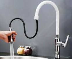 white pull kitchen faucet white kitchen faucets pull awesome homes features white