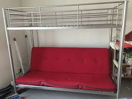 lit mezzanine canapé lit mezzanine avec banquette maison design hosnya com