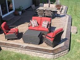 Attractive Stamped Concrete Patio Design Ideas  Images About - Concrete backyard design ideas