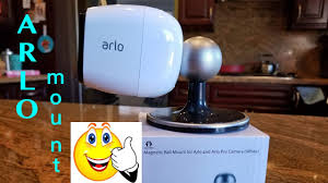 arlo table and ceiling mount arlo arlo pro pro2 accessory magnetic ball mount for ceiling