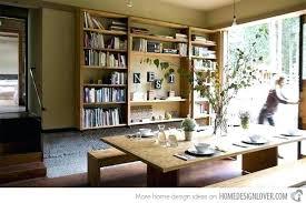 bookshelves in dining room bookshelves in dining room dining room used as a library bookshelf