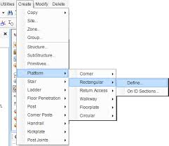 Handrail Synonym Asl Modeller Application In Pdms 12 Pdmsid