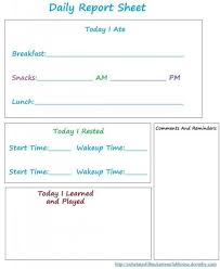 Daily Report Sheet Template Best 25 Daycare Daily Sheets Ideas On Daycare