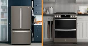 white kitchen cabinets with black slate appliances ge slate appliances 2021 reviews photos prices