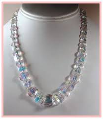 swarovski beaded necklace images Signed exquisite swarovski crystal pagoda bead necklace sold jpg