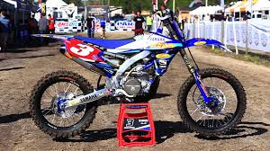 motocross bikes yamaha jordan ashburn u0027s factory yamaha yz450f gncc race bike bikes of