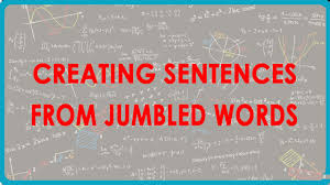 1115 creating sentences from jumbled words youtube