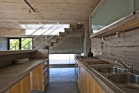 Industrial Style Kitchen Designs Concrete House With Industrial Features On The By Bak