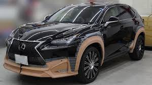 lexus truck nx lexus nx gets an aggressive styling package from wald international