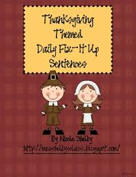 thanksgiving november daily fix it ups by shelby tpt