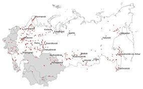 Map Of Europe 1939 by Map Of Gulag Camp Administrations And Stories From Central Europe