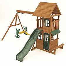 Big Backyard Swing Set Big Backyard F23220 Windale Play Center Toys Games Outdoor