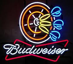 busch light neon sign budweiser neon signs budweiser led 1950 budweiser neon clocks
