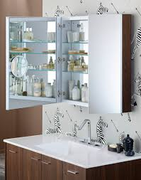 bathroom cabinets modern medicine cabinet from mirror door