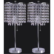 Small Table Lamp With Crystals Lamp Sets You U0027ll Love Wayfair