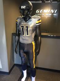 academy force football unveils new uniforms this is the home of