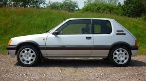 peugeot sports car price this peugeot 205 gti just sold for a world record price top gear