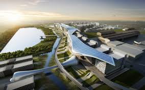 atkins reveals design for asia aerospace city in malaysia 15 click to enlarge