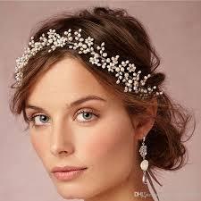 bridal tiaras vintage wax flower crowns bridal tiaras delicate forehead wrap