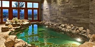 indoor swimming pool ideas with extravagant design
