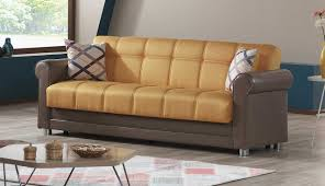 avalon prusa yellow sofa by casamode