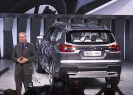 subaru suv concept subaru re joins full size suv segment with world debut of the
