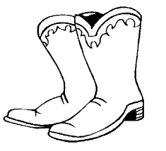 winter hat coloring pages cowboy boots and hats coloring pages bestofcoloring com