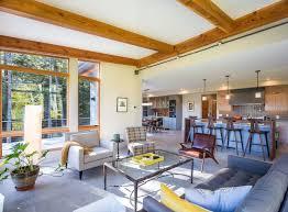 modern open floor plans mid century modern 15 yankee barn homes