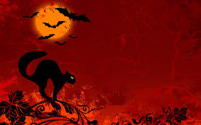 halloween background puppys halloween black cat wallpaper 4822 wallpaper themes collectwall com