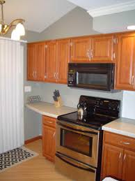 mini kitchen units large refrigerator hanging light metal cabinet