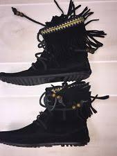womens fringe boots target leather fringe boots for ebay