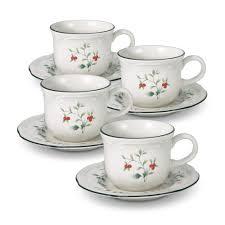 tea saucers u0026 tea set accessories pfaltzgraff