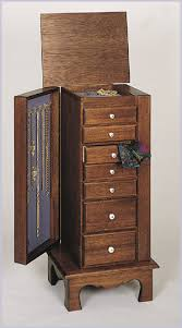 jewelry armoire plans woodworking plans for diy armoire diy creations pinterest