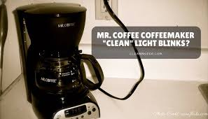 Keurig Descale Light Mr Coffee Coffeemaker