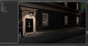10 downing street london england 3d design architectural model