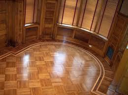 Hardwood Floor Border Design Ideas 318 M29 Fingerblock Parquet With Custom Round Border Design