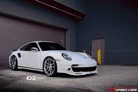 Porsche Boxster Lowered - white porsche 997 turbo lowered on d2forged wheels gtspirit