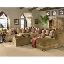 U Shaped Sofa Sectional by Casbah Transitional U Shaped Sectional Sofa By King Hickory