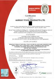 quality aarkay food products ltd