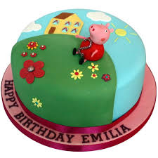 peppa pig cake ideas peppa pig cake buy online free uk delivery new cakes