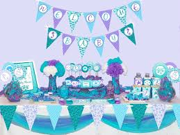 the sea baby shower decorations mermaid baby shower decorations printable the sea baby