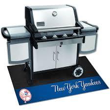 Yankees Toaster Amazon Com Fanmats 12162 Mlb New York Yankees Vinyl Grill Mat