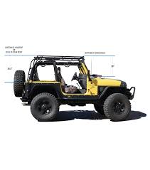 Smittybuilt Roof Rack by Gobi Roof Racks Jeep Wrangler Tj Rack Height Jeep Pinterest