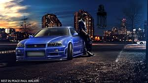 blue nissan skyline fast and furious nissan skyline wallpapers kamos wallpaper